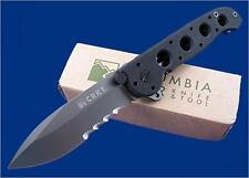 Couteau CRKT M21 G-10 Acier 8Cr14Mov Titane Serrat Manche G-10 CR2112G