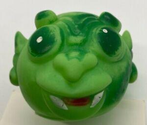 Vintage Emson Leechy Luke Green Alien Monster Rubber Ball KO Knock Off Mad Ball