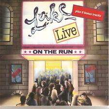 """Lake:  """"On The Run - Live"""" + bonustracks  (Digipak Double CD Reissue)"""