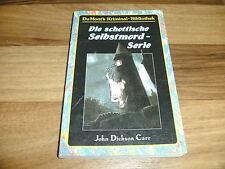John Dickson Carr -- SCHOTTISCHE SELBSTMORD-SERIE / DuMont`s Kriminal-Bibliothek