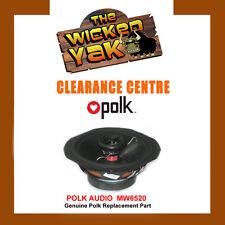 Polk Audio 6.5inch Car Audio Speakers MW6520 Genuine Polk Audio Speaker-NEW