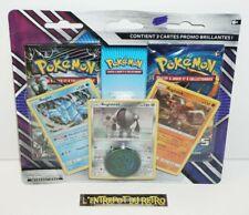 ++ double pack boosters pokemon tempetes celeste et evolutions + 3 cartes promo