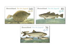 SALT-WATER FISH 2016 GERMANY SET (3vals) SUPERB MNH