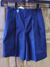 New Boys George Navy Uniform Shorts Size 4
