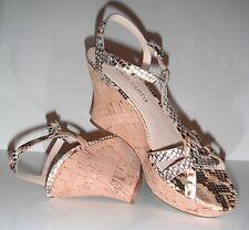 New Franco Sarto Women's L-Notice Animal Print Sandal Shoe sz 9M $79