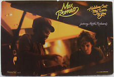 MAX ROMEO & KEITH RICHARDS Holding Out My Love To You ORIGINAL 1981 used poster