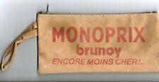 TROUSSE PUBLICITAIRE MONOPRIX BRUNOY encore moin cher ancien collection école 91
