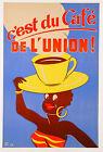 LARGE CANVAS PRINT VINTAGE COFFEE ADVERT ART PAINTING 75CM X 50CM
