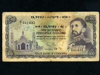 Ethiopia:P-23,100 Dollars 1961 * Haile Selassie *