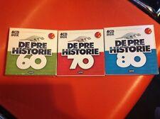 Cd De pre historie 60 , 70 , 80. 4 cd box