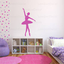 BALLERINA Wall Decal Stickers Home room Decor Art Removable Type 3 (M)