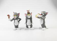 Tom und Jerry === 3 x Figuren Plastoy