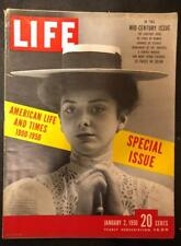 Life Jan 2 1950 Mid-century Issue, Special Issue