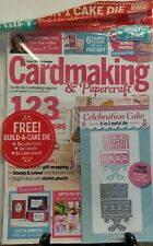 Cardmaking & Papercraft Issue 160 Sept 2016 Free Build A Cake Die  FREE SHIPPING