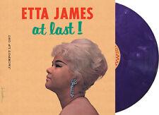"Etta James - ""At Last!"" (Limited Purple Marbled Vinyl) sealed LP Jackpot Records"