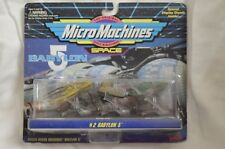 New Micro Machines 1994 Babylon 5 #2 Vorlon Narn Raider Collectible Galoob Nos