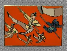 Stitch & Mulan Pin - Disney Auctions Pin LE 500