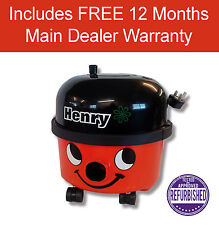Numatic Henry - HVR200-12 High or Low Power Bagged Cylinder Vacuum Cleaner