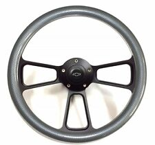 1966 Chevelle, El Camino Carbon Fiber Steering Wheel Chevy Horn Kit, Adapter