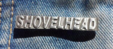 Shovelhead Pewter Pin Badge