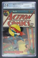 Action Comics #23 - PGX 2.0 GD - DC 1940 -Superman- 1st App of Lex Luthor!!!