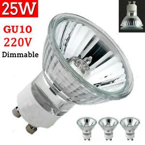 25W Dimmable Halogen Bulbs Replace Light Reflector Spotlight Down Lamp GU10 220V