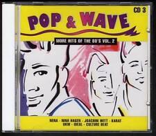 POP & WAVE CD3 Nena Nina Hagen Joachim Witt Ideal Karate DEUTSCHE WELLE