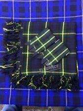 "Kilt Fly Plaid Gordon Highland Tartan/48""X48"" Fly Plaid Gordon Tartan+Flashes"