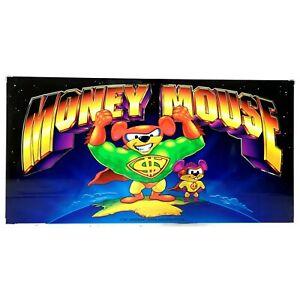 Money Mouse Aristocrat Poker Pokies Gaming Machine Advertising Game Artwork 1997