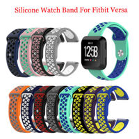 Silicone Sport Watch Band WristBand Strap Bracelet For Fitbit Versa Replacement