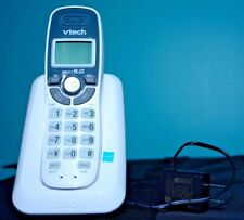 Cordless Phone VTech CS6114 DECT 6.0 Caller ID White Handset Landline
