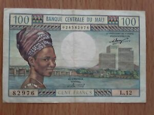 Billet 100 francs Mali TTB+