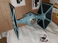 """Star Wars 1995 Power of the Force 2 - POTF2 - 3.75"""" TIE Fighter Vehicle"""