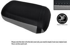 Gris y Negro personalizado de vinilo cabe Honda VTX 1800 02-04 Trasero Cubierta de asiento solamente