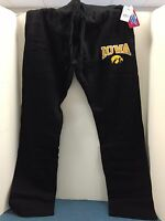 Iowa Hawkeyes embroidered Sweatpants-with drawstring!!! NEW WITH TAGS!!!