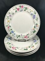 "Set of 4 Farberware Stoneware ENGLISH GARDEN 10-1/2"" Dinner Plates"