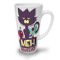 Meh Whatever Animal NEW White Tea Coffee Latte Mug 12 17 oz | Wellcoda