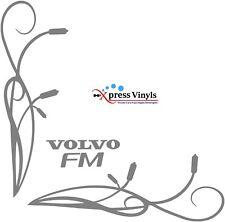 Volvo FM truck stickers x 2 side window vinyl graphics