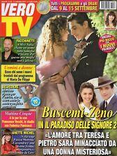 Vero Tv 2017 36.Giuseppe Zeno-Giusy Buscemi,Vittoria Belvedere,Anette Michel