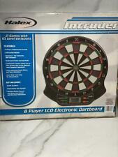 Halex Intruder 8 Player LCD Electronic Dart Board, 21 Games 65 Level Variations