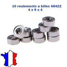 4x Roulement à billes mr126 2rs 6x12x4 mm bleu miniature à billes à Billes