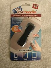 Love Handle Fits Any Device As Seen On TV 1 Pack Cell Phone & Tablet Sling Grip