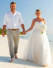 Ivory wedding dress size 12 Sweetheart neckline. Lace bodice, Tulle skirt