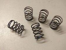 5 x Druckfeder - Spiralfeder - Feder    9,8 x 13mm - Stärke 0,9mm  Stahlfeder