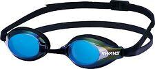 SWANS Japan Swimming Goggle Anti-fog UV cut Mirror Racing SR-3M SMBL