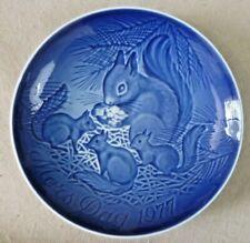 Vintage Ceramics - Bing & Grondahl (B&G) Mors Dag/Mothers Day 1977 Plate Denmark