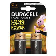 Duracell MN1400 Plus Power C Size Batteries