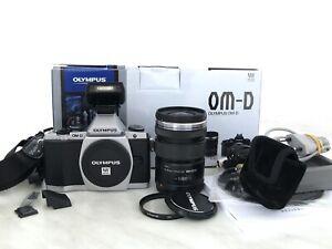 Olympus OM-D E-M5 mit 12-50mm 3.5-6.3 Digitalkamera Gewährleistung 1 Jahr