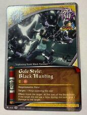 NARUTO CCG TCG GALE STYLE: BLACK HUNTING ULTIMATE NINJA STORM 3 CARD