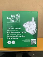 big green egg table casters